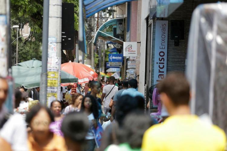 Bahia segue com a maior população da região Nordeste   Foto: Raul Spinassé   Ag. A TARDE - Foto: Raul Spinassé   Ag. A TARDE