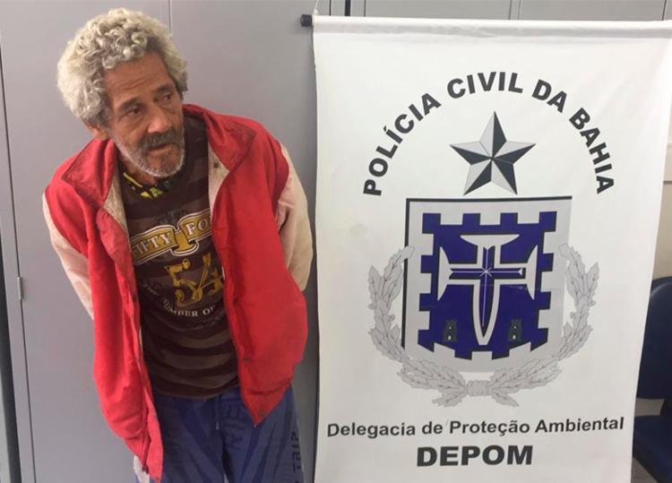 Jorge Fernando havia cometido o mesmo crime na última sexta-feira, 2, em Piatã - Foto: Divulgação | SSP-BA