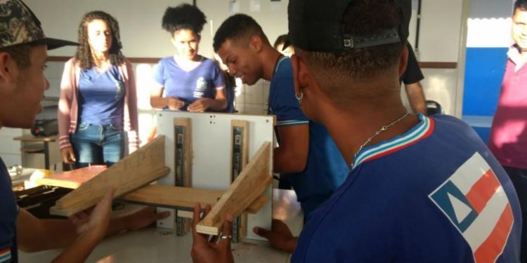 O projeto faz parte da disciplina de Iniciação Científica do Colégio Estadual Pedro Calmon. - Foto: Divulgação