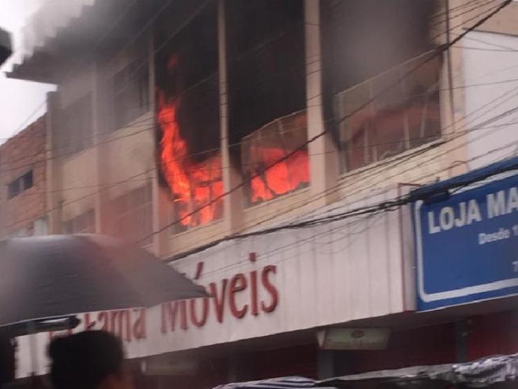 Não há informações sobre as causas do incêndio - Foto: Reprodução I Forte na Notícia
