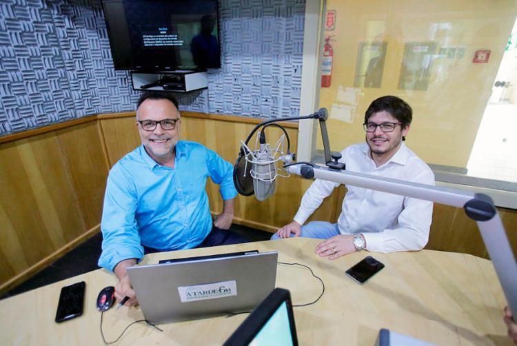 Jefferson Beltrão e Fernando Duarte ancoram programa