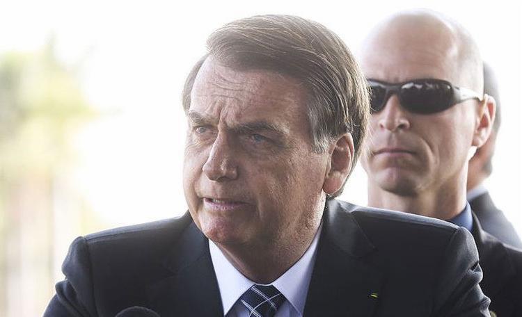 Bolsonaro questionou até mesmo anúncio oficial feito pelo Palácio do Planalto com a recusa dos recursos do G-7 pelo Brasil - Foto: Antonio Cruz l Agência Brasil