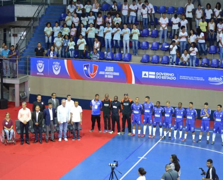A cerimônia de abertura do evento foi realizada no Centro Pan-Americano de Judô, em Lauro de Freitas. - Foto: João Ubaldo_divulgação