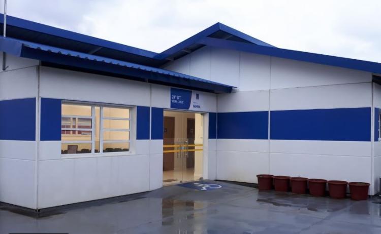 A 24ª Delegacia Territorial (DT) de Vera Cruz investigará a autoria do triplo homicídio - Foto: Reprodução
