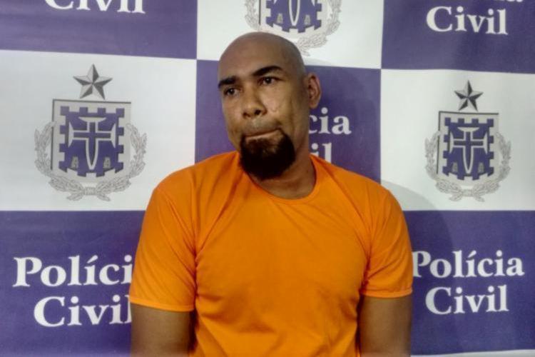 Paulo Sérgio Ferreira, é suspeito de matar Moa com 12 facadas - Foto: Divulgação I SSP