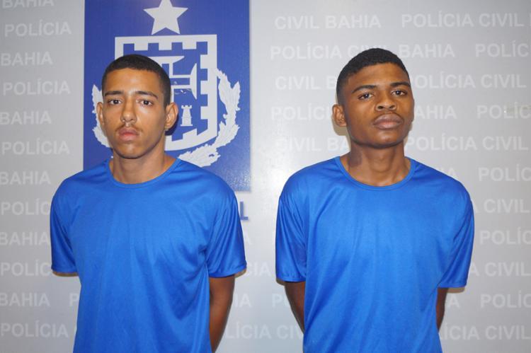 Allan foi reconhecido por testemunhas, confessou o latrocínio e apontou Rodrigo como comparsa - Foto: Divulgação | Polícia Civil
