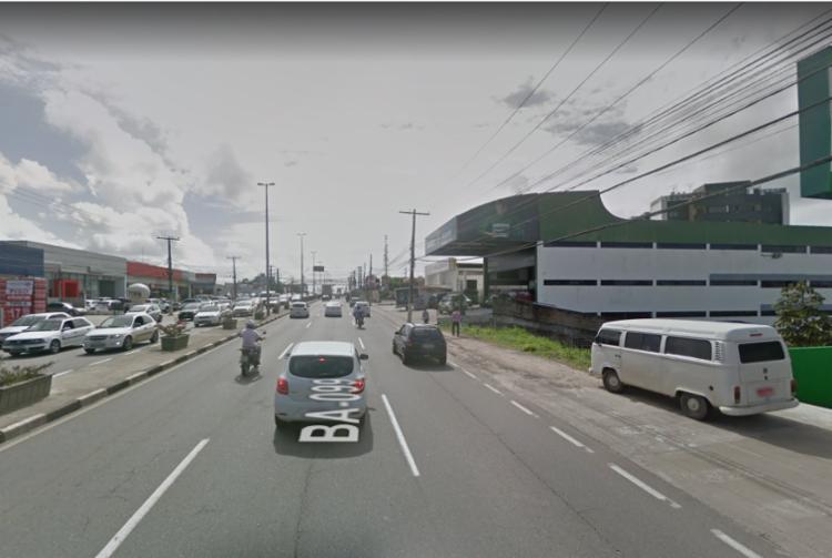 Vítima foi encontrada inconsciente - Foto: Reprodução | Google Street View