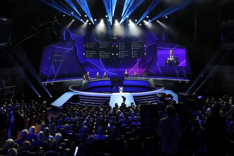 Sorteio dos grupos da próxima Liga dos Campeões aconteceu nesta quinta-feira, 29 - Foto: Valery Hache l AFP