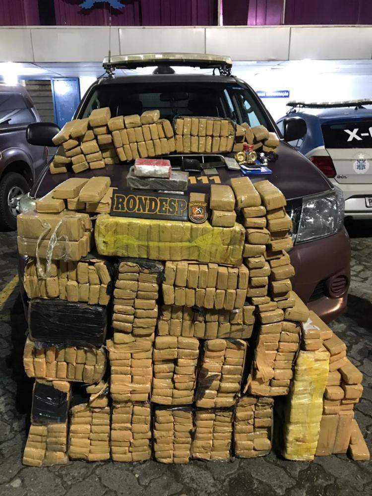 Segundo comandante da Rondesp, local distribuía drogas para outros pontos de tráfico - Foto: Divulgação   SSP