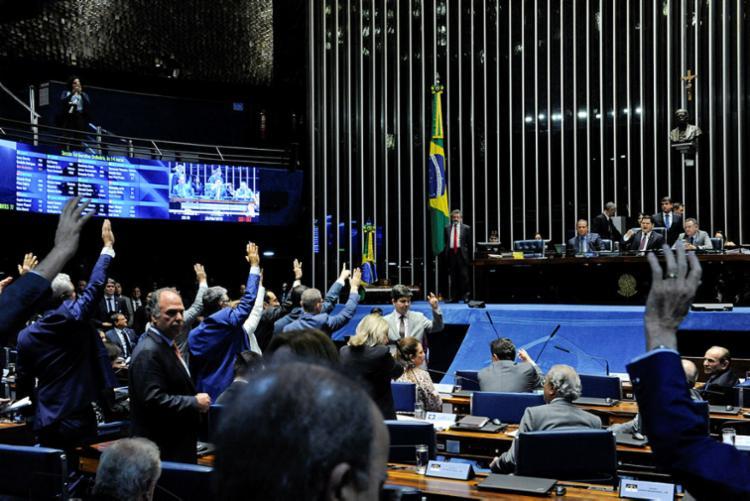 Projeto que criminaliza abuso de autoridade foi aprovado na última quarta-feira - Foto: Roque de Sá I Agência Senado