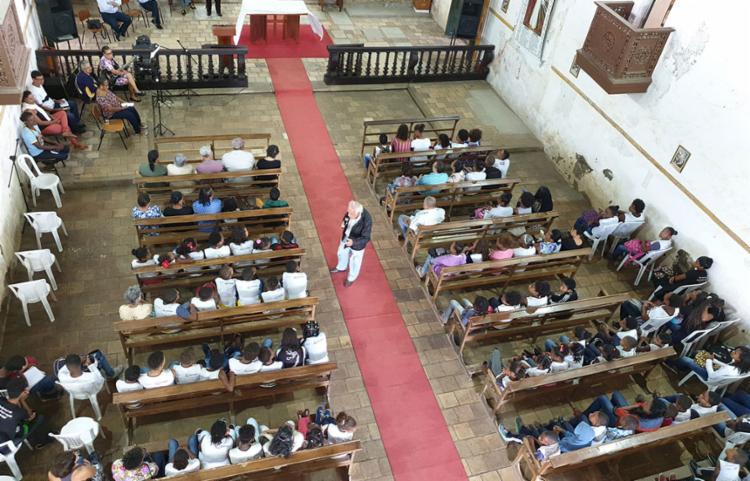 O inauguração aconteceu na manhã desta segunda-feira, 5, na paróquia Nossa Senhora do Rosário de Cachoeira - Foto: Divulgação