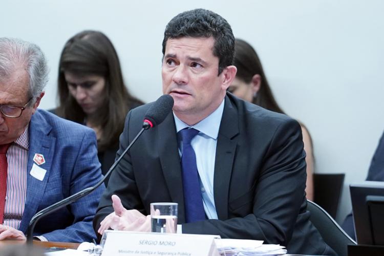 A fala de Moro ocorre em meio à polêmica sobre a Lei do Abuso, que a Câmara aprovou nesta quarta - Foto: Pablo Valadares | Câmara dos Deputados