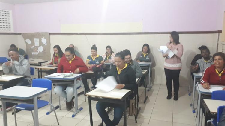Cerca de 250 alunos do CETEP Chapada Diamantina II participam das atividades preparatórias para o exame - Foto: Divulgação