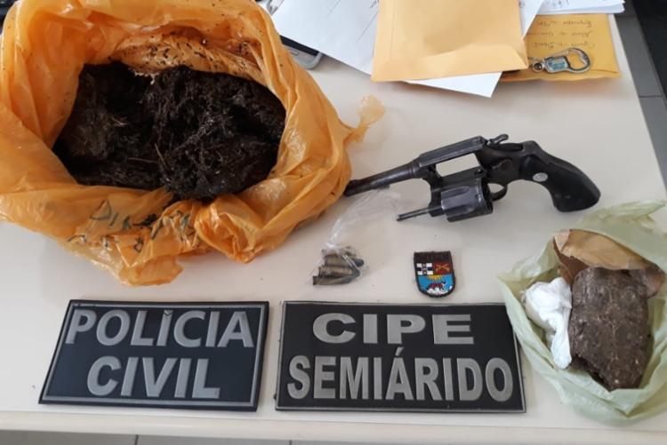 Vinicius possuía passagens por tráficos de drogas - Foto: Divulgação | SSP