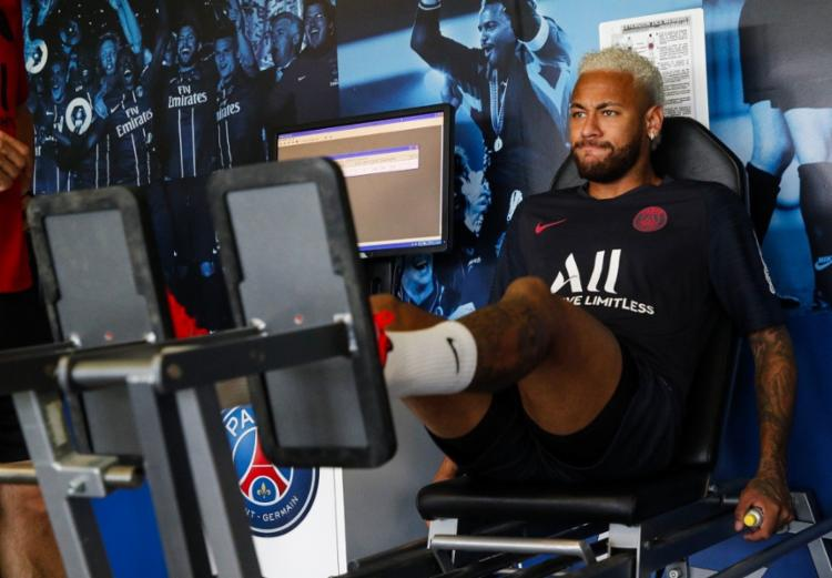 O atleta não vem atuando pelo PSG desde a temporada passada - Foto: Reprodução | Twitter