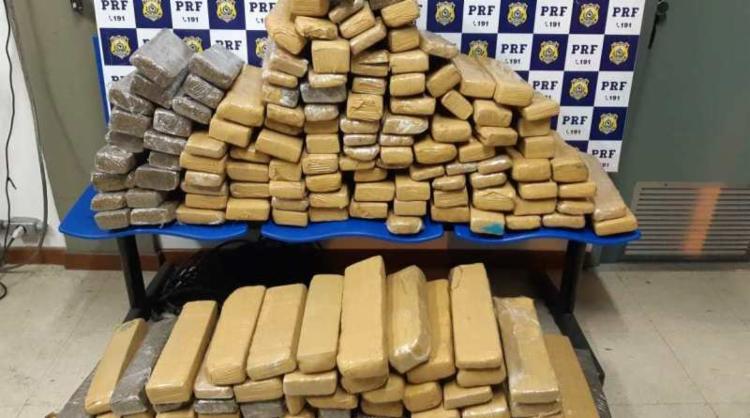 O produto foi encaminhado à Delegacia de Polícia Civil em Vitória da Conquista - Foto: Divulgação | PRF