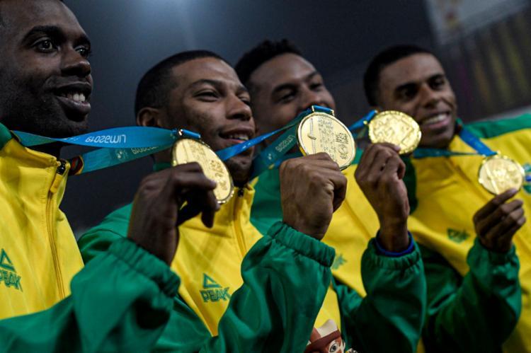 Time Brasil conquistou dez medalhas de ouro com Ederson Vilela - Foto: Alexandre Loureiro I COB