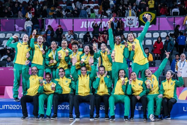 Pelo Brasil, Raphaella Monteiro fez 12 pontos, assim como Erika - Foto: Pedro Ramos | rededoesporte.gov.br