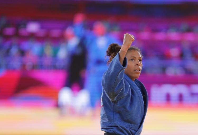 Rafaela Silva conquistou seu primeiro ouro em Pan-Americanos - Foto: Ernesto Benavides l AFP