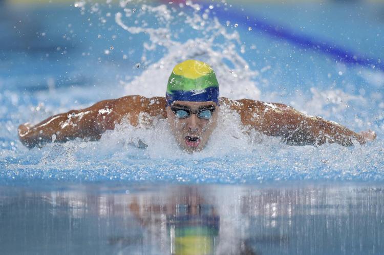 Na disputa dos 100 metros livre, o Brasil terá quatro representantes nas finais, sendo dois em cada naipe - Foto: Divulgação | COB