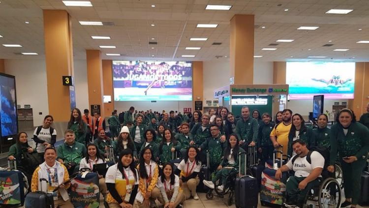Delegação brasileira conta com 337 atletas no total - Foto: Divulgação I CPB