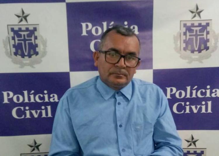 José Leôncio estava com a prisão decretada pela Justiça por estupro de vulnerável - Foto: Divulgação | Polícia Civil