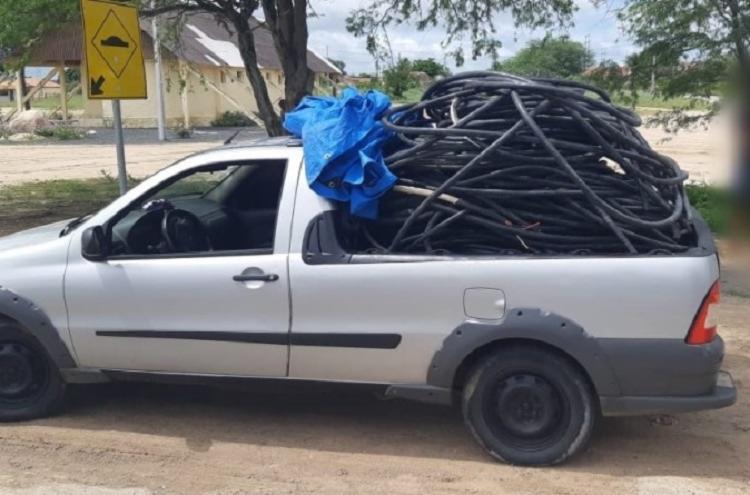 Cabos foram furtados da Usina PA IV - Foto: Divulgação   PRF
