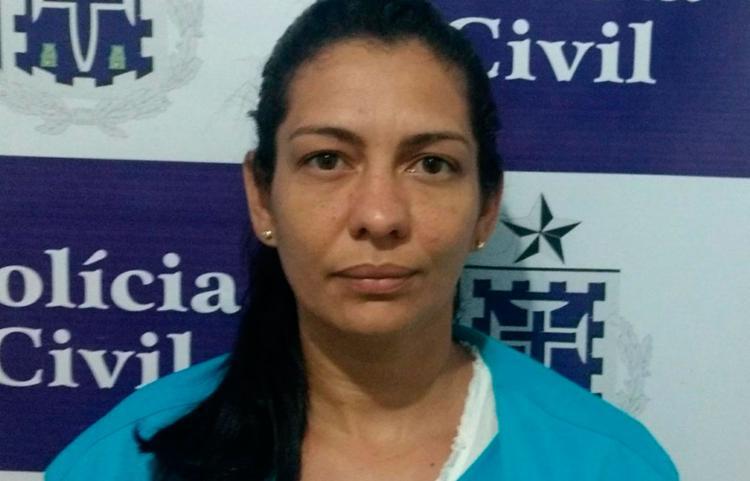 Maiane Souza de Jesus, de 31 anos, tinha um mandado de prisão em aberto - Foto: Divulgação   Polícia Civil