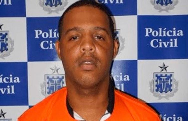 José Roque Paixão de Jesus, conhecido como 'Ninho', já havia sido preso em 2017 suspeito de homicídios - Foto: Reprodução | Bom Dia Feira