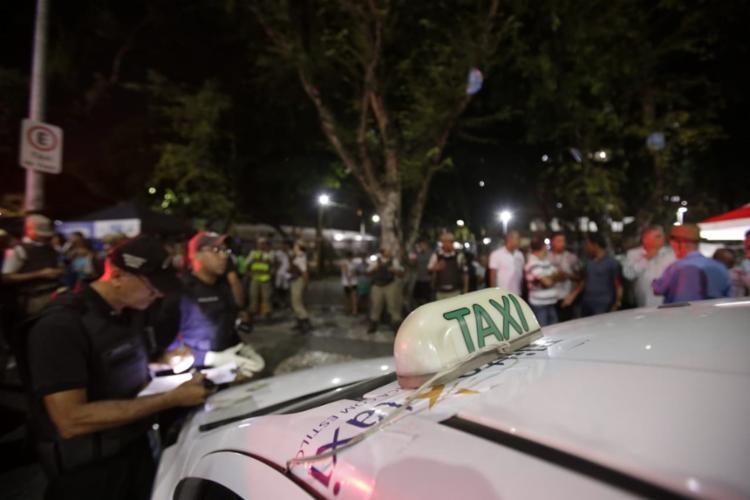 O crime aconteceu nas proximidades do Teatro Castro Alves (TCA) - Foto: Raul Spinassé | Ag. A TARDE