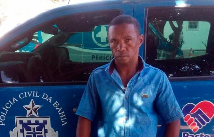 Raimundo ficará em custódia no Complexo Policial da cidade - Foto: Divulgação | Polícia Civil