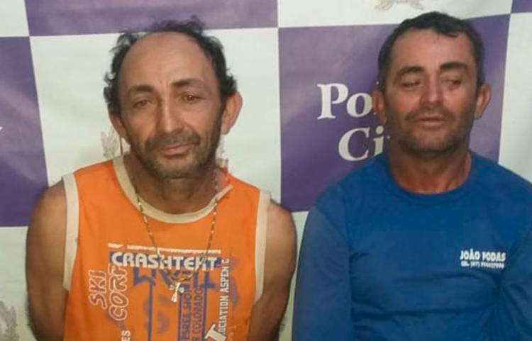 José e João estão custodiados na sede da Coorpin, a disposição da Justiça - Foto: Divulgação | Polícia Civil