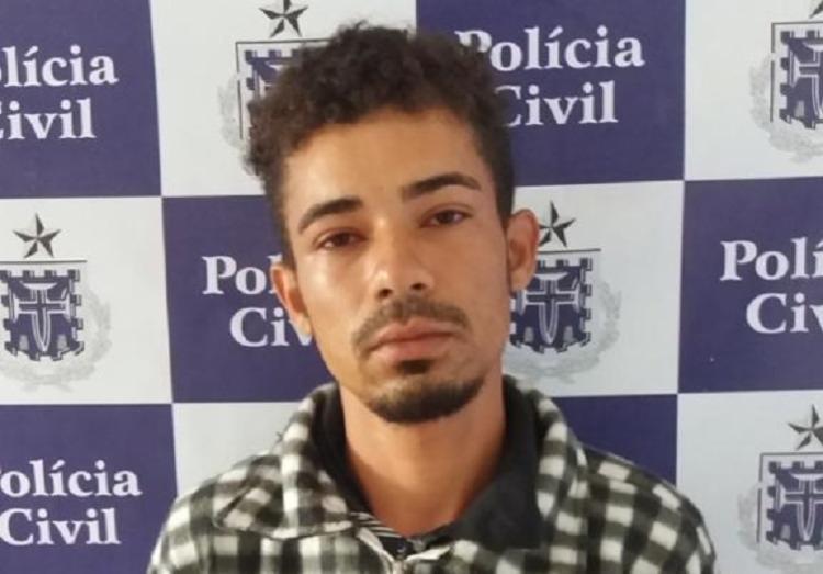 Deivid Santos Santana já tinha passagens por crimes de tráfico de drogas e receptação - Foto: Divulgação | Polícia Civil