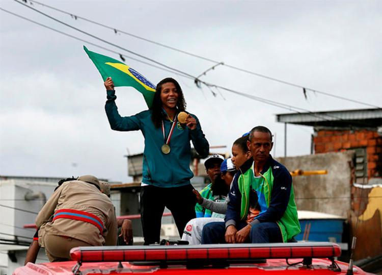 Em 2016, a atleta alcançou o topo mundial do judô nos Jogos Olímpicos do Rio