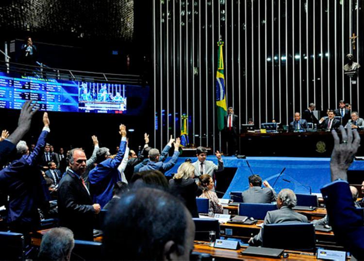 Até a manhã desta sexta-feira, 23, 16 senadores protocolaram sugestões de mudanças na PEC - Foto: Roque de Sá | Agência Senado