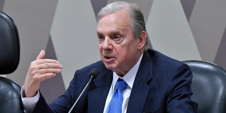 Leitura do relatório foi feita pela senador Tasso Jereissati - Foto: Geraldo Magela | Agência Senado | CP
