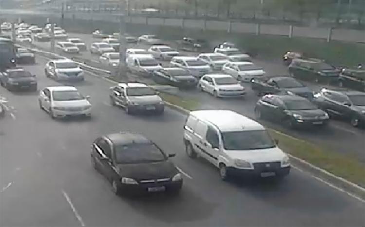 Acidentes provocam congestionamentos em algumas vias - Foto: Reprodução | Twitter | Transalvador