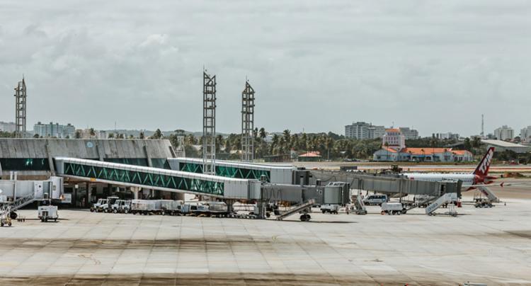 O embarque internacional ficará no segundo pavimento - Foto: Divulgação   Salvador Bahia Airport
