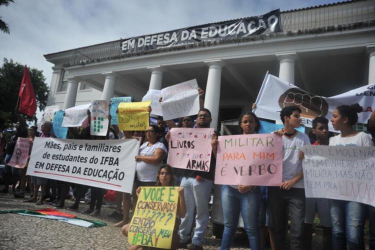 Uma das propostas é de defender a autonomia universitária - Foto: Felipe Iruatã | Ag. A TARDE