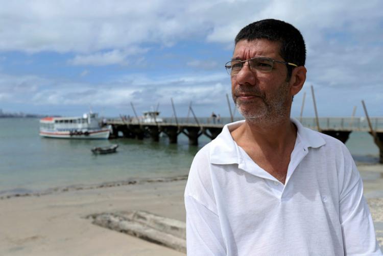 Luís Felipe é marido de Adailma, que cometeu suicídio - Foto: Uendel Galter | Ag. A TARDE