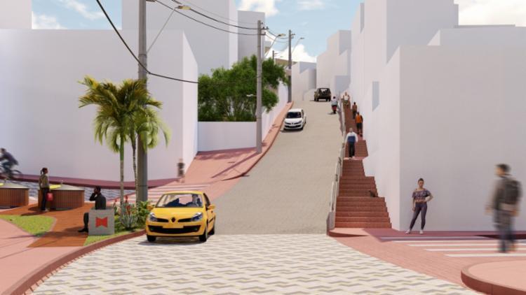 A previsão de conclusão das obras é de nove meses - Foto: Divulgação | Prefeitura de Salvador