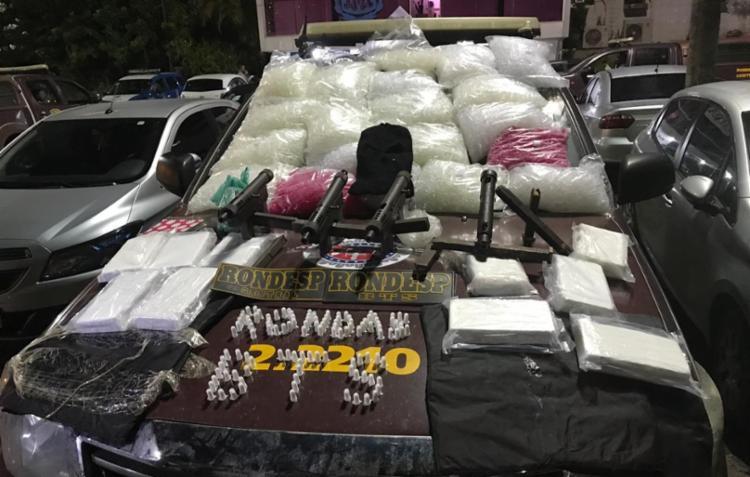 Materiais ilícitos foram encontrados após denúncia - Foto: Divulgação | SSP-BA
