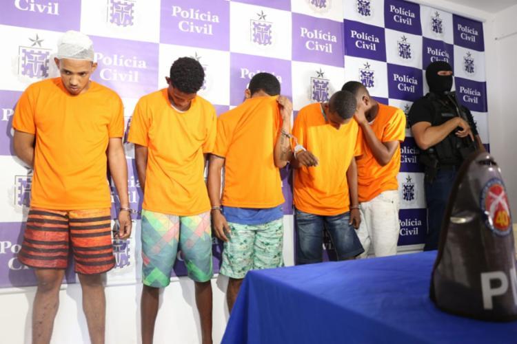 O grupo será indiciado por cinco crimes - Foto: Alberto Maraux   Divulgação   SSP-BA