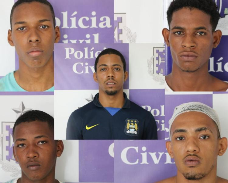 Suspeitos foram presos na noite desta quinta-feira