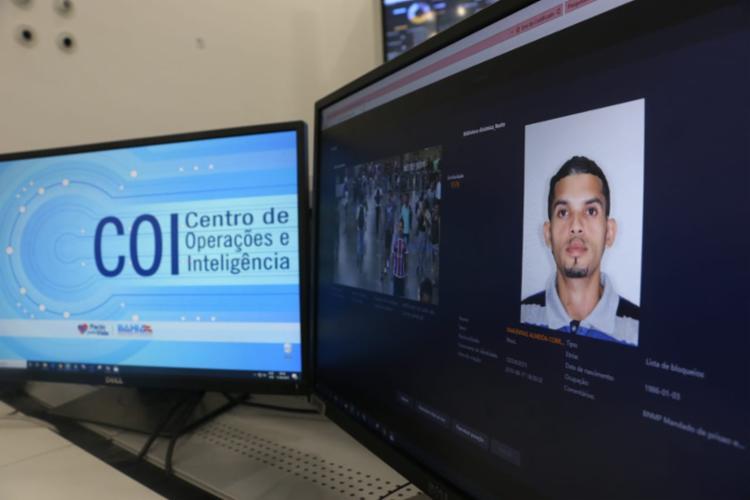 Suspeito foi identificado após passar por uma estação de metrô localizada na capital baiana - Foto: Divulgação | SSP-BA