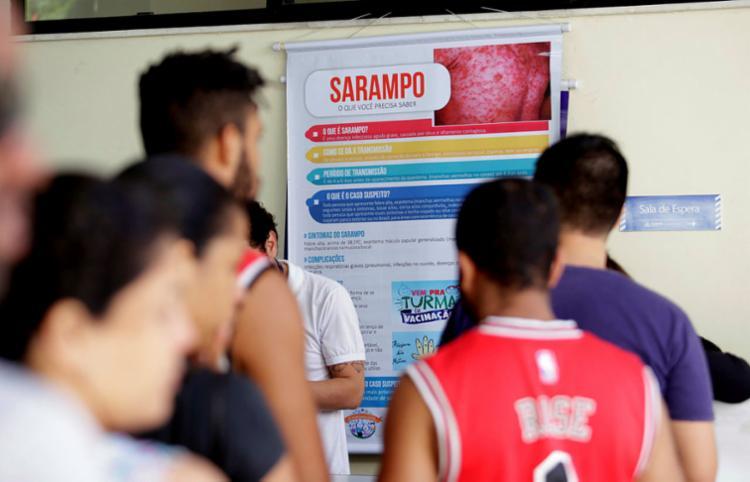 Serão preparadas 26 milhões de doses para sarampo - 12 milhões já foram entregues - Foto: Felipe Iruatã I Ag. A TARDE