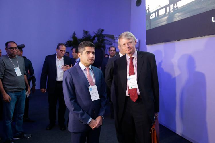 Prefeito de Salvador recebeu o embaixador da Holanda, Kees van Rij