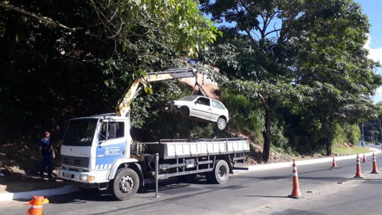 A ação aconteceu nas localidades de Mussurunga, Itapuã, Lagoa do Abaeté e nas avenidas 29 de Março, Gal Costa e Via Regional - Foto: Divulgação   SEMOP
