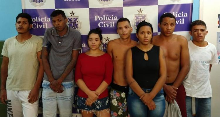 Os suspeitos estão à disposição da justiça - Foto: Divulgação | Polícia Civil