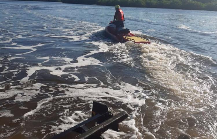 Corpo foi resgatado por uma equipe do Corpo de Bombeiros - Foto: Divulgação | SSP